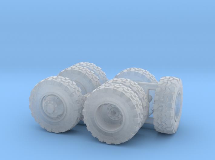 1/64 Scale Off-Road Wheel Set 3d printed