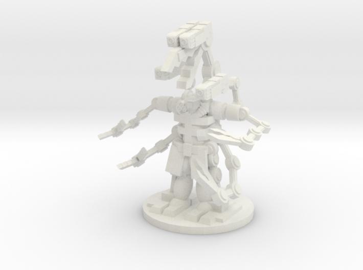 Tech Cyborge 3d printed