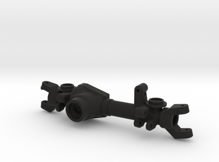 TM8 Front Coil Left Drop Axle Housing 3d printed