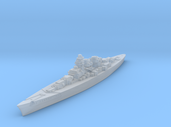 H-39 Class German Battleship (Global War Scale) Qt 3d printed
