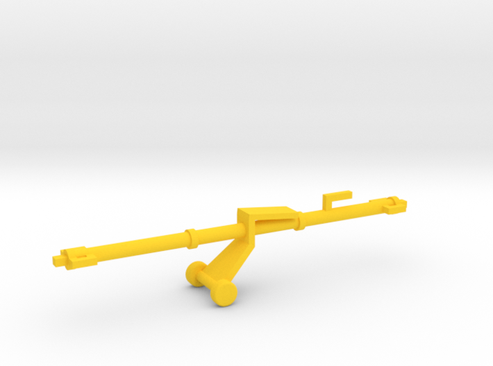 1/144 Scale Aircraft Tow Bar 3d printed