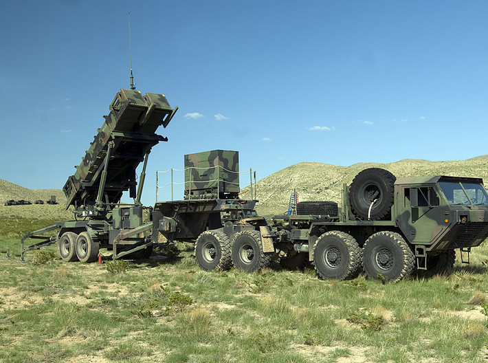 Patriot Missile System Convoy 3d printed