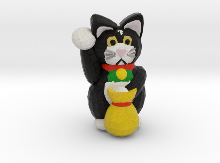 Lucky Cat 3d printed
