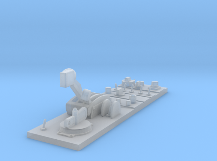 Whirlwind Centre Console (Front part) 3d printed