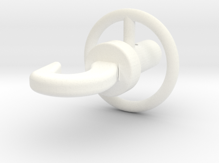 Wessex Hook 3d printed