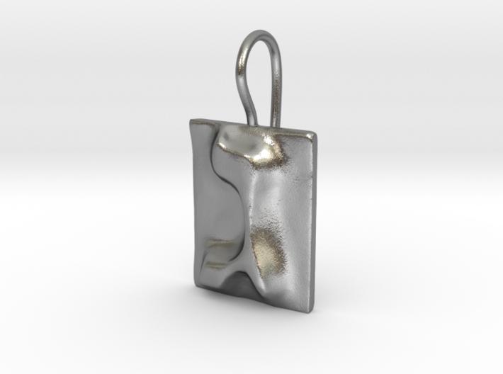 03 Gimel Earring 3d printed