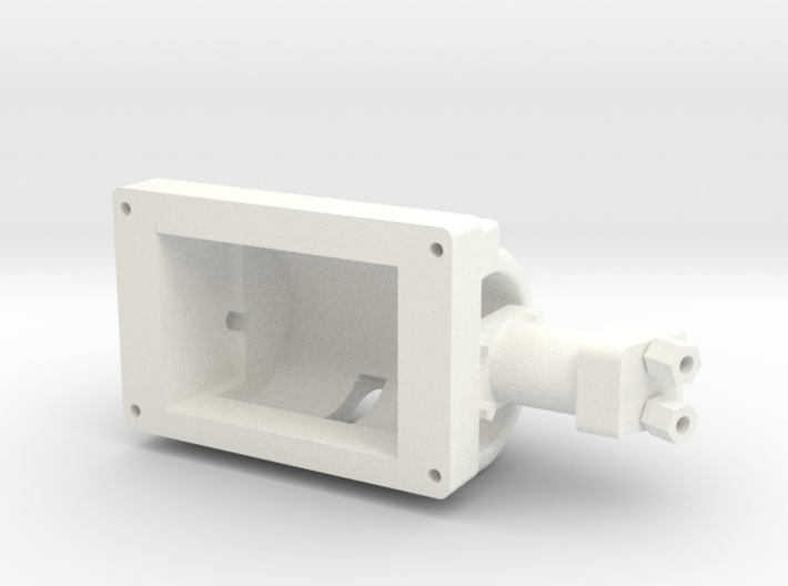 Wessex Winch Body 3d printed