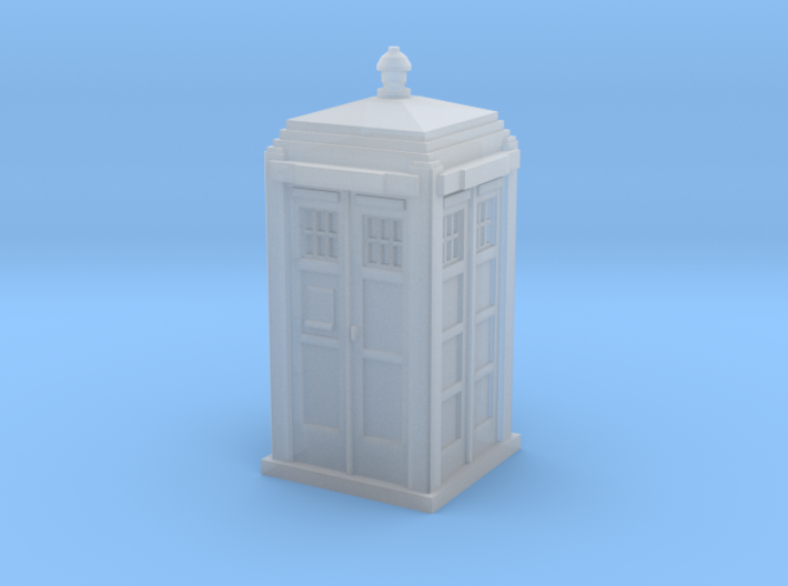 TARDIS / Police box Mk2 (N 1:160) 3d printed