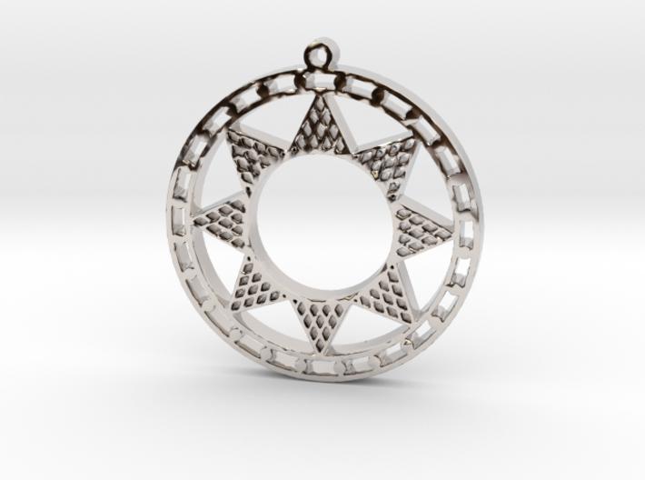 Ancient Sun (cutout) 3d printed