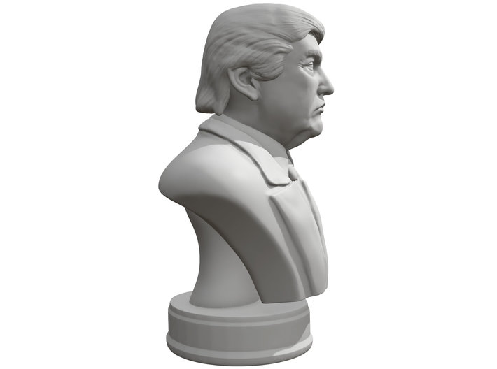 Donald Trump Presidental edition 3d printed
