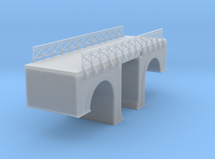 Polish Arched Road Bridge Z Scale 3d printed Polish Arched Road bridge 2 Z scale
