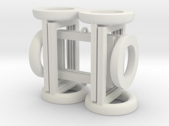 Token Frames - Set of Six 3d printed