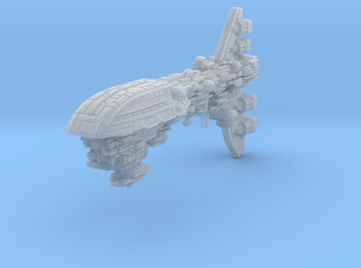 Assault Frigate Mk I Type V (1/7000) 3d printed