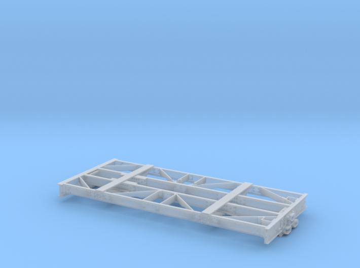 O-Scale D&RGW Dual Gauge Idler 010793 3d printed
