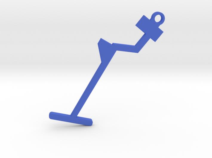 Metal Detector Keyring 3d printed