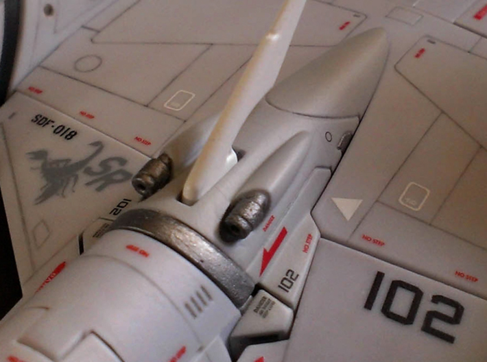 VF-4C/G/K (OLD) Custom Head Unit 3d printed Snug!