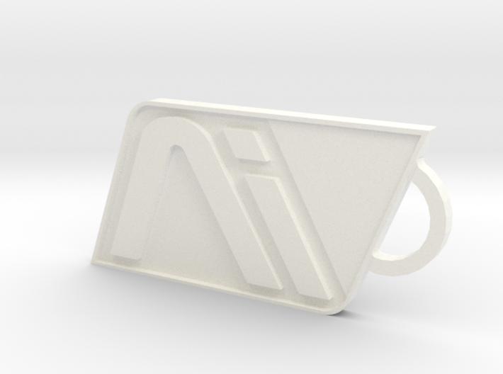 Andromeda key fob 3d printed
