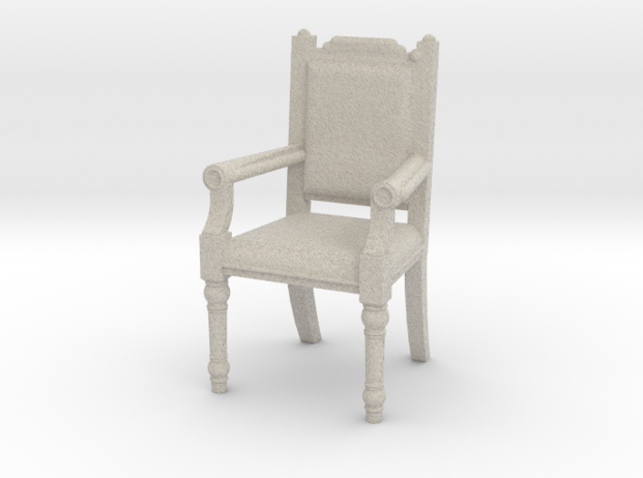 Fireplace chair 3d printed