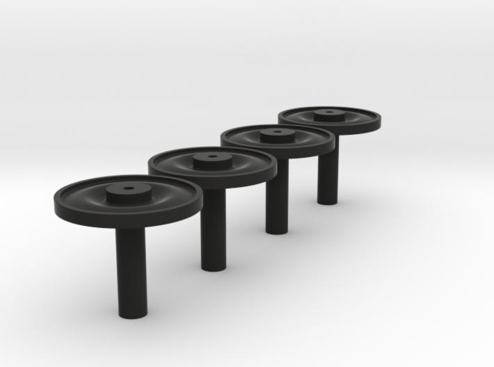 Radscheibennaben 3mm 3d printed