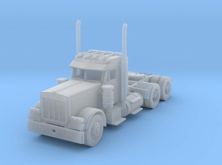Peterbilt 379 Daycab 1:160 scale 3d printed