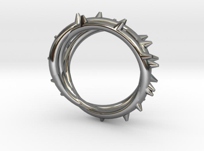 Rose Thorn Ring - Sz. 5 3d printed