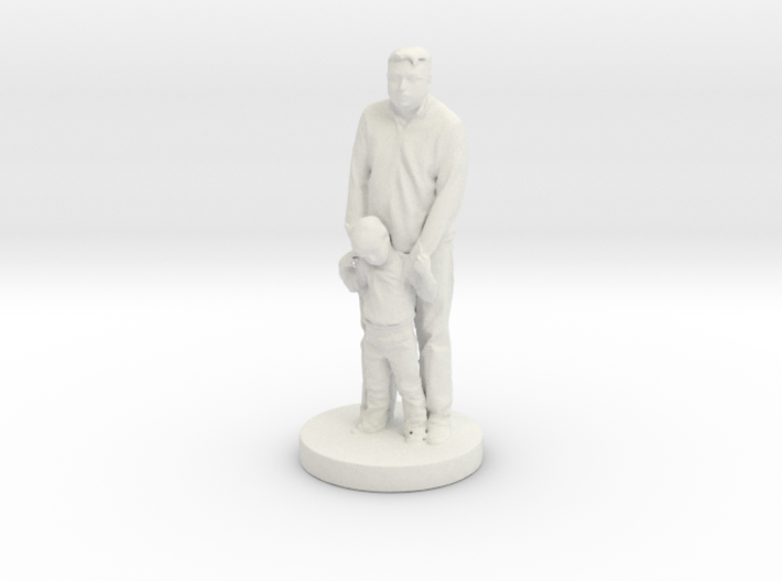 Printle C Couple 051 - 1/24 3d printed