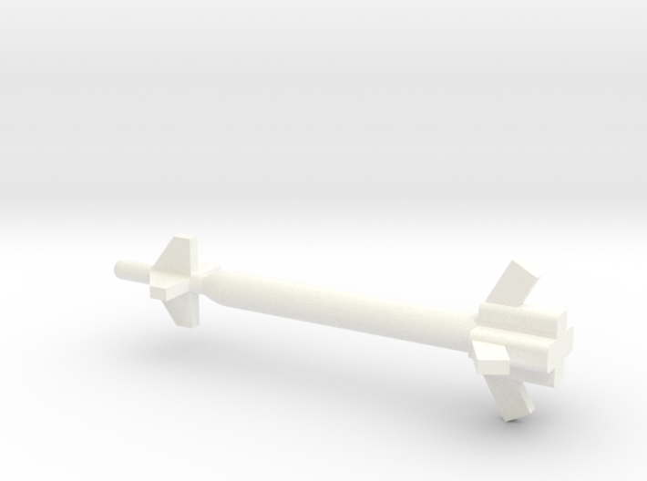 1/72 Scale GBU-28 and GBU-37 GPS Bunker Buster Bom 3d printed