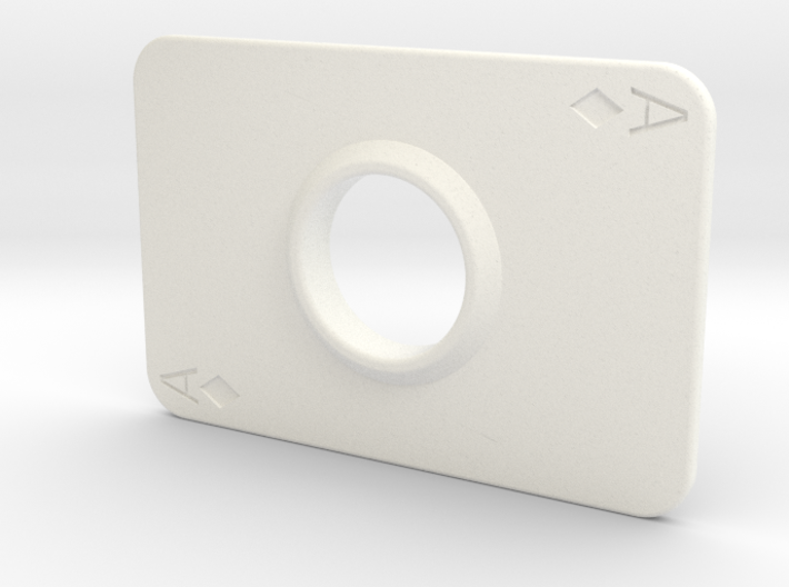 Hand Spinner Playing Card 3d printed