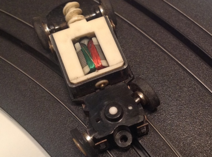 """NEW! Tyco """"S"""" Pins - for HO Slot Cars 3d printed Always turn into the skid!"""