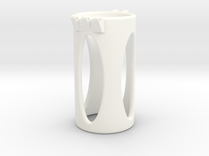 Ccage-shaft-oval 34-75 3d printed
