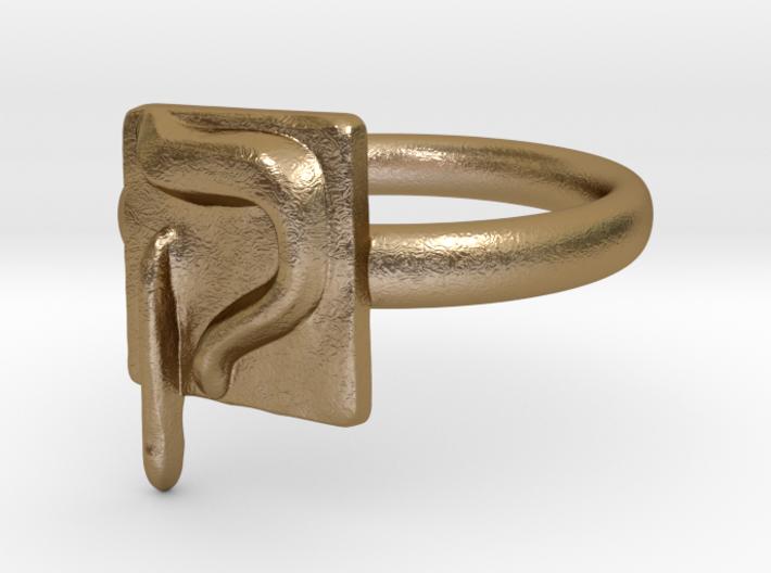 19 Qof Ring 3d printed