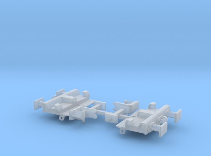 Freightliner KFA Headstock Square Pocket Set 3d printed