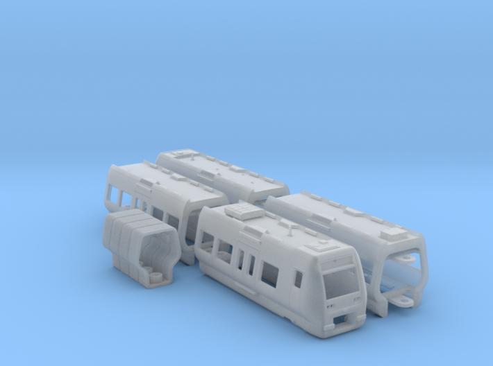 DSB Litra SE N [4x body + details] 3d printed
