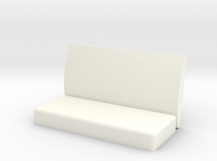 Virginia & Truckee Coach Bench Left Arm Rest 3d printed