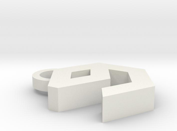 9Gag Key Chain 3d printed