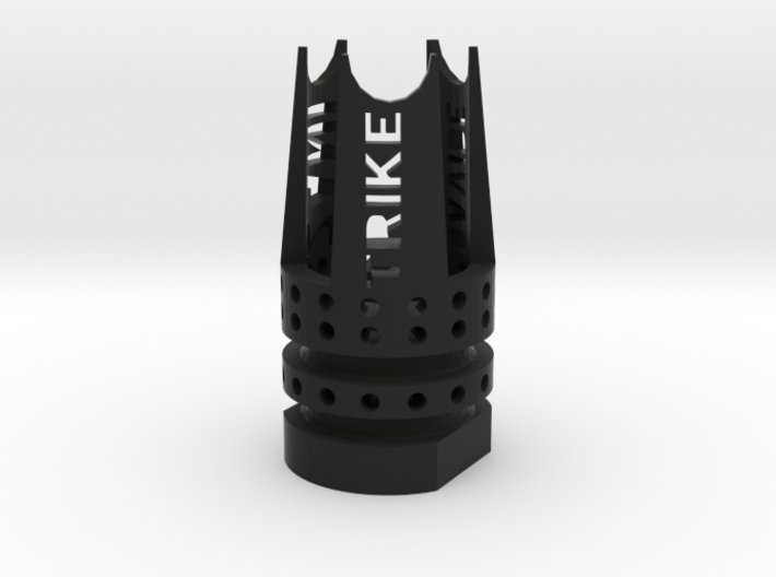 Trike Airsoft Flash-Hider (14mm-) 3d printed