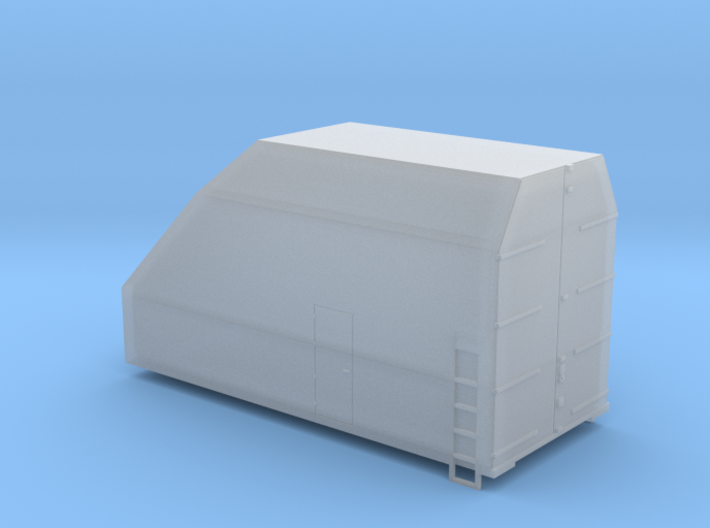Boeing 737 Tail Component Box - N 1:160 3d printed