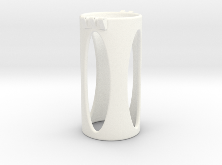 Ccage-shaft-oval 44-100 3d printed