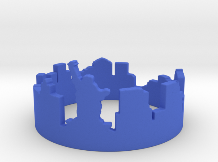 New York (choose size 6-13) 3d printed New York Skyline