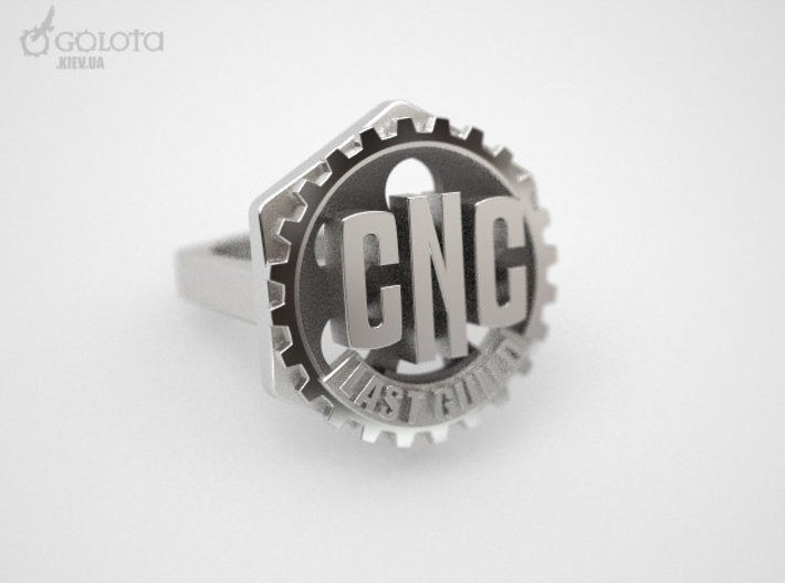 CNC Guild Ring - 9 size 3d printed CNC_guild_ring 2