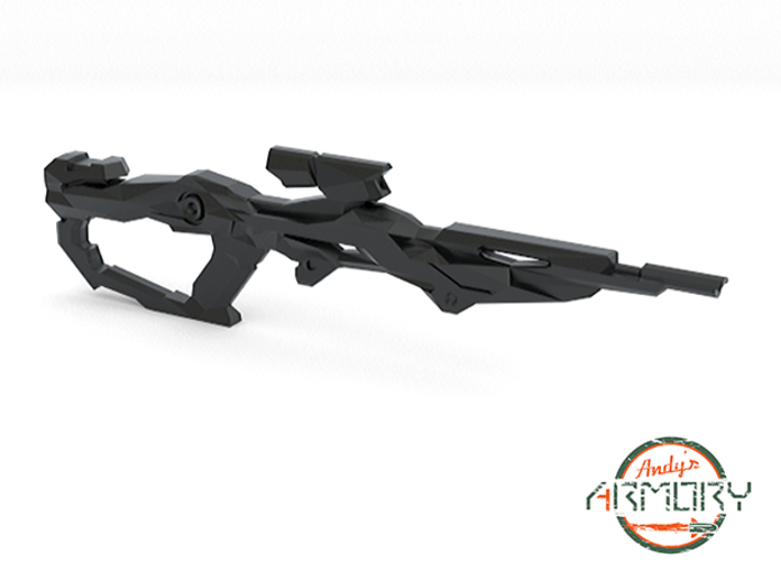 Andy's Armory: AA BLST 004 Assault Rifle 3d printed