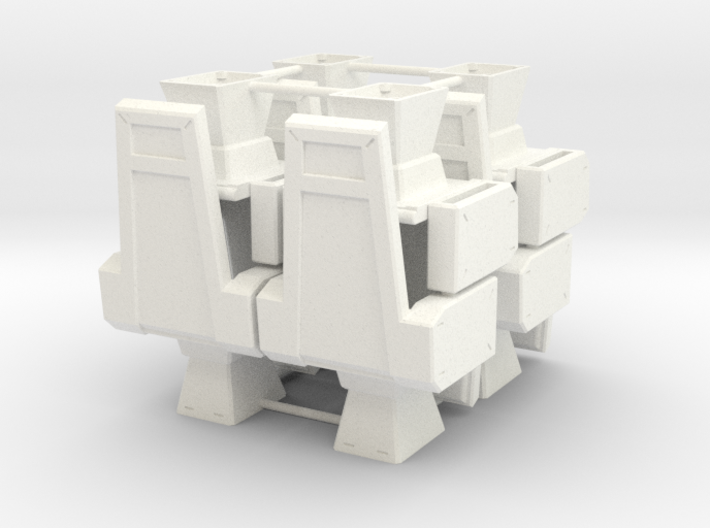 M.A.S.K. Energy Room - All 8 chairs 3d printed