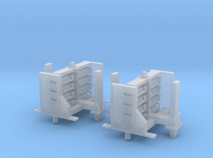 N scale Perch Rail Butt's Original Style 3d printed