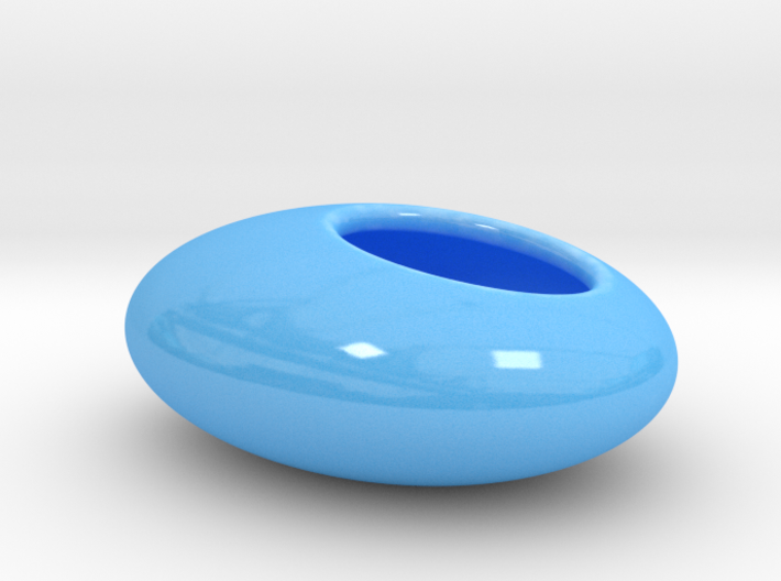 Oval Succulent Planter 3d printed