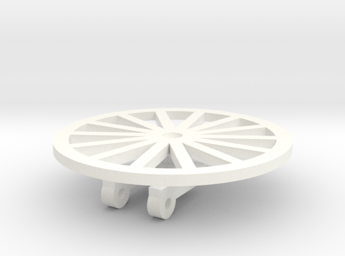 TIle Stringer Wheel 3d printed