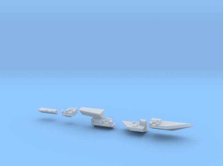 1:350 Scale USS Harry S. Truman 1998-2006 Update S 3d printed