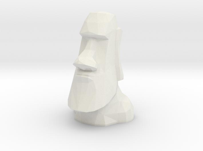 Moai LED Tea Light Holder 3d printed