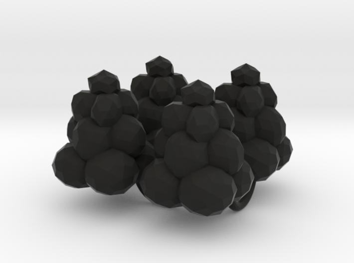 Power Grid Coal Piles - Set of 4 3d printed