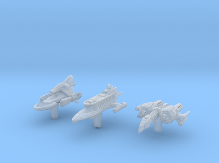 (Armada) Transports Set III 3d printed