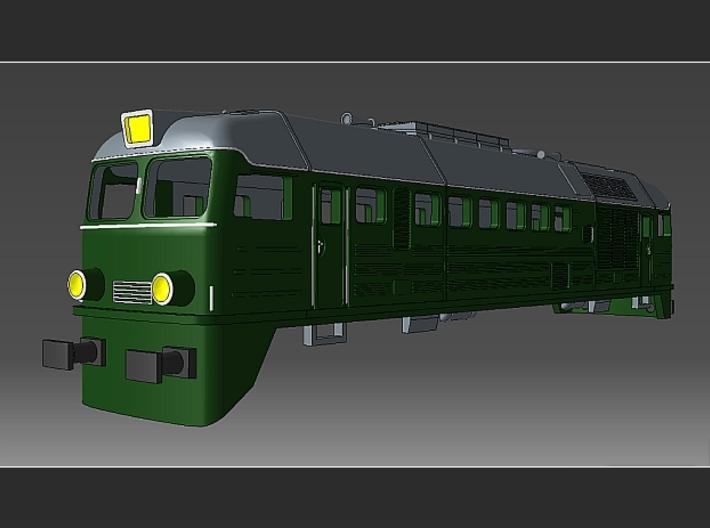 """1:220 - ST 44 PKP """"Gagarin"""" Spur Z Gehäuse 3d printed"""